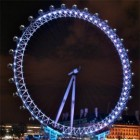 London Eye - het reuzenrad: populaire attractie in Londen