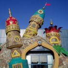 Port Laguna: entreegebied van attractiepark Toverland