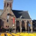 De kaasmarkt in Alkmaar, Noord-Holland