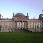 De Duitse Rijksdag, het parlementsgebouw van Duitsland