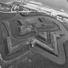 Fort De Schans en de steunforten Redoute en Lunette op Texel