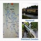Een dag rond het aquaduct in Håverud te Dalsland, Zweden