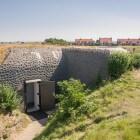 Het kazemattenmuseum in Kornwerderzand (Friesland)