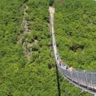 Hünsruck: de Geierlay, tweede langste hangbrug van Duitsland