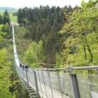 Hangbrug Geierlay en wandelroute Geierlayschleife