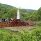 Geysir Andernach: een koudwatergeiser in Duitsland