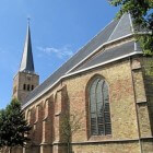 Friesland. De Martinikerk in Franeker