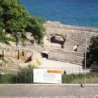Amfitheater in Tarragona: arena uit de Romeinse tijd