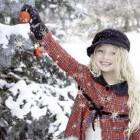 Kinderen naar buiten tijdens kerstvakantie