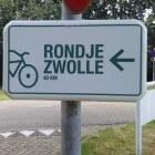 Rondje Zwolle: fietsroute