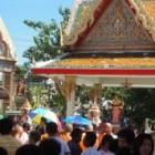 Driemaal kaarsenrondegang: Wian Thian (Makha Bucha) Thailand