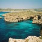 Comino � eiland in de Middellandse Zee