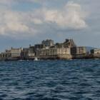 Het Hashima eiland in Japan