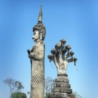Boeddhapark in Nong Khai, Thailand