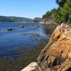 Quebec: in en rond Lac Saint-Jean en Saguenay