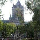 Quebec: mooie stad aan de St. Lawrencerivier