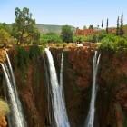 De watervallen van Ouzoud
