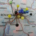 Rovaniemi, geboortestad van de kerstman aan de poolcirkel