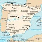De costa's in Spanje
