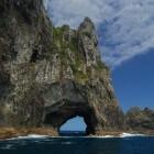 Bay of islands in Nieuw-Zeeland
