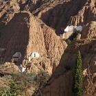 De grotwoningen van Guadix zijn bijzonder om te overnachten