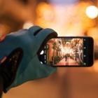 Touchscreen handschoenen voor gebruik smartphone in de kou