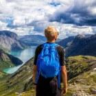 Bergwandelen tijdens vakantie