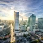Warschau: groeiend Polen