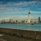 Portsmouth, een havenstad aan de zuidkust van Engeland