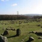 De eeuwenoude begraafplaats van Lindholm Høje (Denemarken)