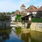Baskenland: Salies-de-Béarn, beroemd om zijn zout