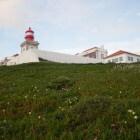 Cabo de la Roca bij Lissabon: meest westelijke punt Europa