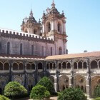 Alcobaça Klooster bij Lissabon: graf van koningen Portugal
