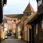 Ribe – oudste stad van Denemarken aan de Ribe Å