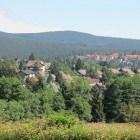 Braunlage; toeristenplaats in nationaal park De Harz