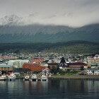 Antarctica, de stad Ushuaia en omgeving