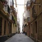 Cadiz is een oude stad aan de haven in het zuiden van Spanje