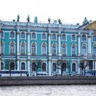Hermitage museum in Sint Petersburg