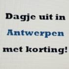 Dagje uit in Antwerpen met bonnen uit de Voordeelagenda 2017