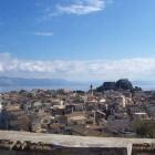 Corfu-stad (Kerkyra): hoofdstad van Corfu