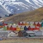 Longyearbyen, de hoofdstad van Spitsbergen
