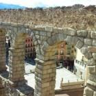 Segovia, onder het aquaduct