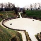 Het amfitheater van Trier in Duitsland
