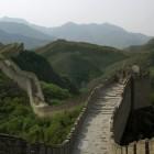 De Chinese Muur bij Beijing (Peking), China