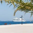 Met een cruiseschip op vakantie