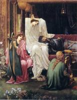 Arthurs slaap in Avalon / Bron: Edward Burne-Jones, Wikimedia Commons (Publiek domein)