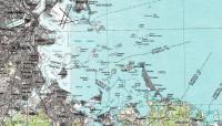 De haven van Boston met de vele eilanden / Bron: Publiek domein, Wikimedia Commons (PD)