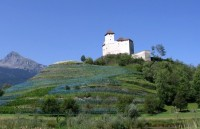 Landschap in Liechtenstein / Bron: Publiek domein, Wikimedia Commons (PD)
