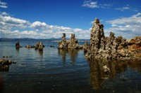 Mono Lake in Californië met de unieke tufa's / Bron: Matt Frederick , Wikimedia Commons (CC BY-2.0)