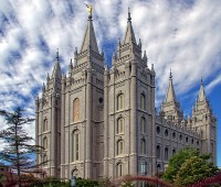 Temple Square's Salt Lake Temple in Salt Lake City / Bron: Kasabubu / Pixabay